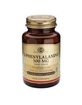 Solgar L-Phenylalanine 500mg (50 Vegicaps) # 2200