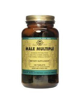 Solgar Male Multiple (120 Tablets) # 1206