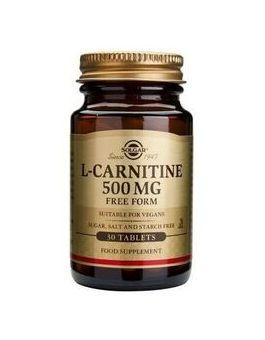 Solgar Maxi L-Carnitine 500 mg (30 Tablets) # 570