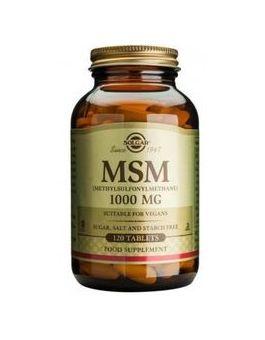 Solgar MSM 1000mg  (120 Tablets) # 1734