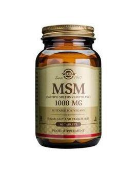 Solgar MSM 1000mg (60 Tablets) # 1733