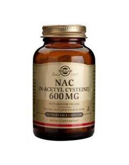 Solgar NAC (N-Acetyl-L-Cystine) 600 mg (60 Vegcaps) # 1791