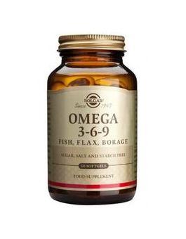 Solgar Omega 3-6-9 (60 Capsules) # 2027