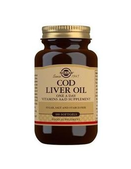 Solgar One-a-Day Cod Liver Oil-Softgels (100 Capsules) # 940
