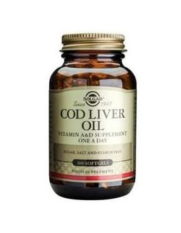 Solgar One-a-Day Cod Liver Oil-Softgels (250 Capsules) # 941