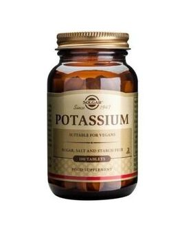 Solgar Potassium Gluconate 99mg (100 Tablets) # 2260
