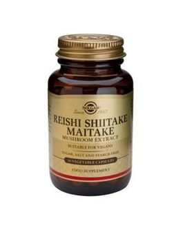 Solgar Reishi Shiitake Maitake Mushroom Extract (50 Veg Capsules) # 2327