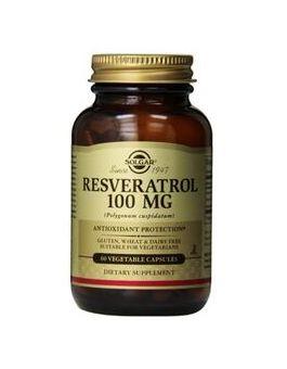 Solgar Resveratrol 100 mg (60 Capsules) # 2335