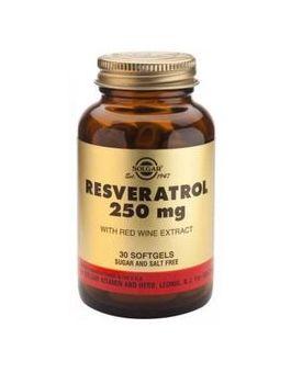Solgar Resveratrol 250 mg (30 Capsules) # 2336