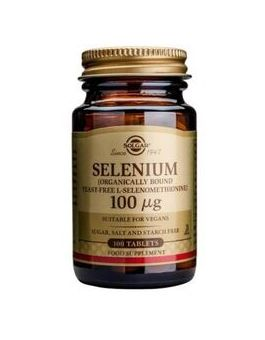 Solgar Selenium 100µg (Yeast Free) 100 Tablets # 2551