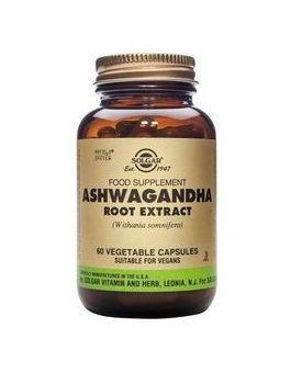 Solgar Standardised Ashwagandha Root Extract (60 Veg Capsules)  # 4104
