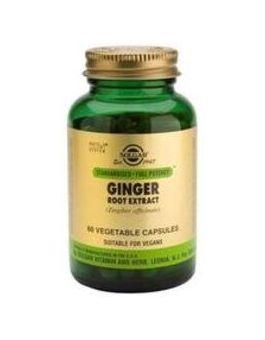 Solgar Standardised Ginger Root Extract (60 Veg Capsules) # 4126