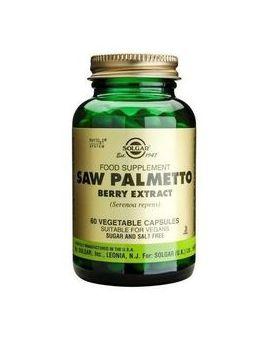Solgar Standardised Saw Palmetto Extract (60 Veg Capsules) # 4143