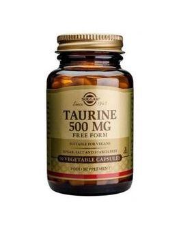 Solgar Taurine 500 mg (50 Vegicaps) # 2700