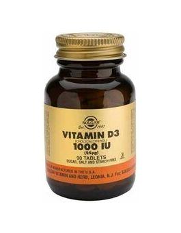 Solgar Vitamin D3 1000 iu (25 µg)  90 Tablets # 3310