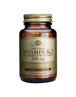 Solgar Vitamin K2 100mcg (50 Capsules) # 3603