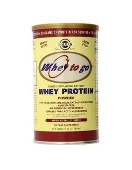 Solgar Whey To Go Protein Powder (Vanilla) (340 g) # 3667