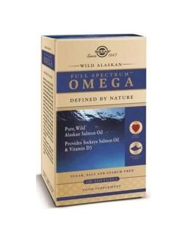 Solgar Wild Alaskan Full Spectrum Omega (120 Capsules) # 1110