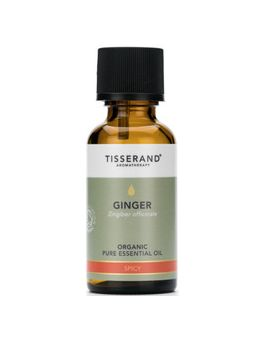 Tisserand Ginger-Organic (Root Of The Plant) Pure Essential Oil