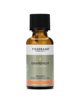 Tisserand Grapefruit-Organic (Rind Of The Fruit) Pure Essential Oil