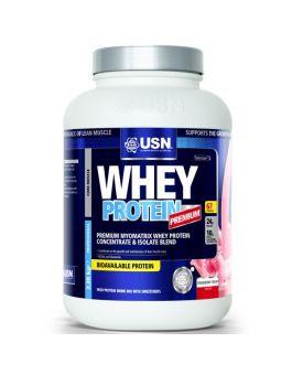 USN 100% Whey Protein - Strawberry