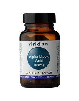Viridian Alpha Lipoic Acid 200mg Veg Caps # 135