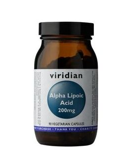 Viridian Alpha Lipoic Acid 200mg Veg Caps # 137