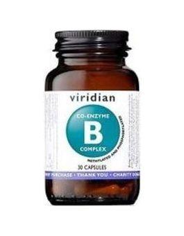 Viridian Co-enzyme B-Complex Veg 30 Caps # 228