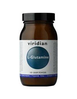 Viridian L-Glutamine Powder 100grams # 025