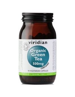 Viridian Organic Green Tea Leaf 500mg # 954