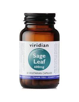Viridian Sage Leaf Extract 600mg # 858