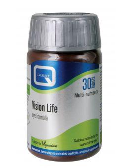 Quest Vitamins - Vision Life (30 Capsules)