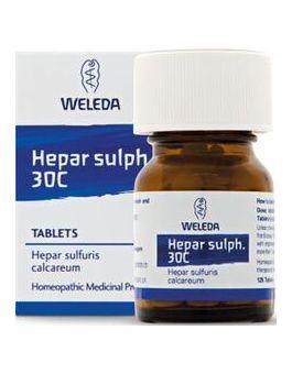 Weleda Hepar Sulpate 30