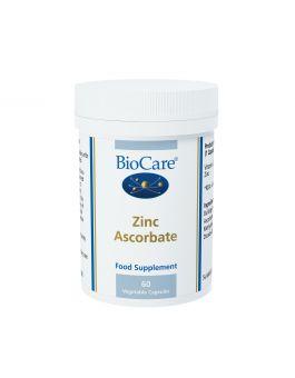 BioCare Zinc Ascorbate 45mg (7mg elemental zinc) # 29460